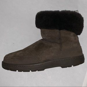 Ugg brown suede boots in EUC